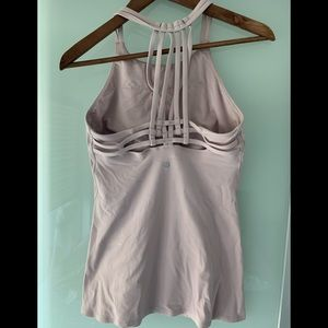 Lululemon pale pink top size 8